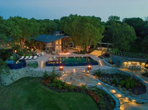 Cool Landscape Lighting For Backyard