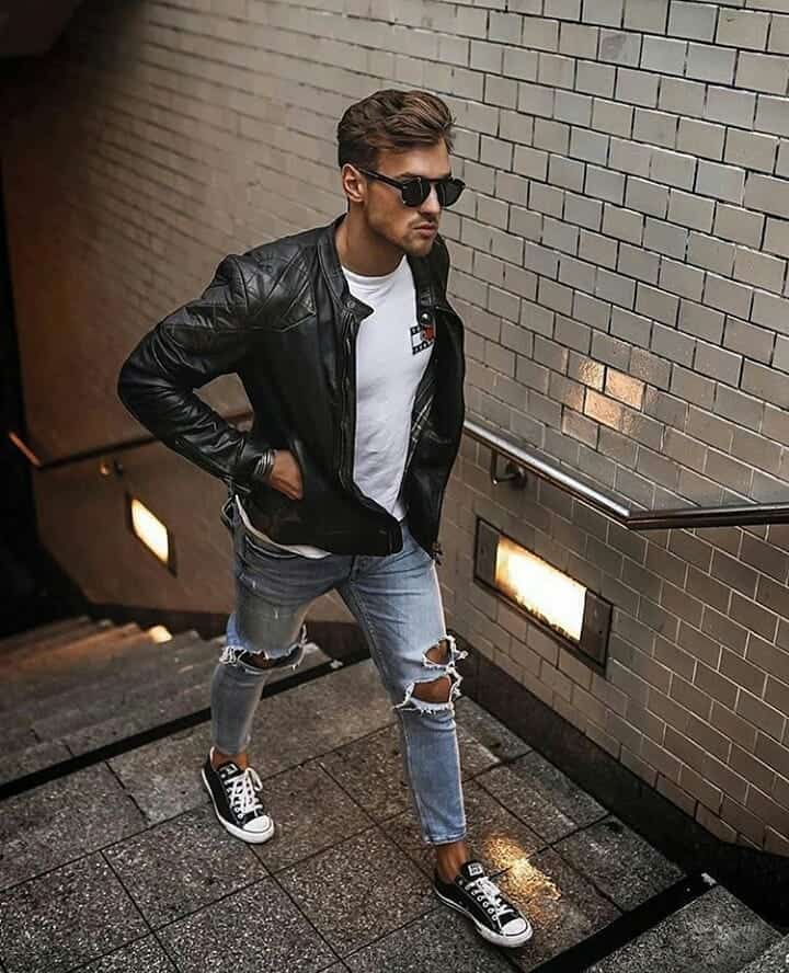 Cool Leather Mens Wear