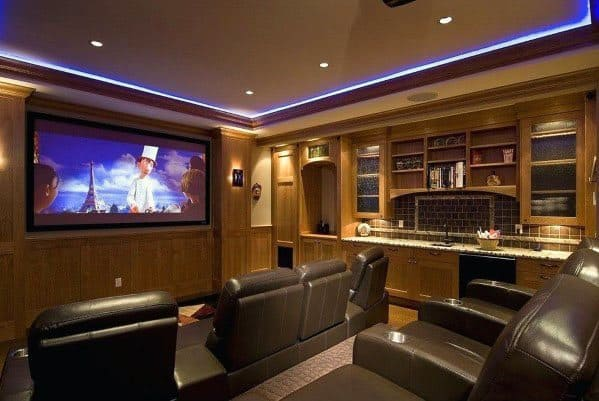 Cool Led Crown Molding Lighting For Home Theater