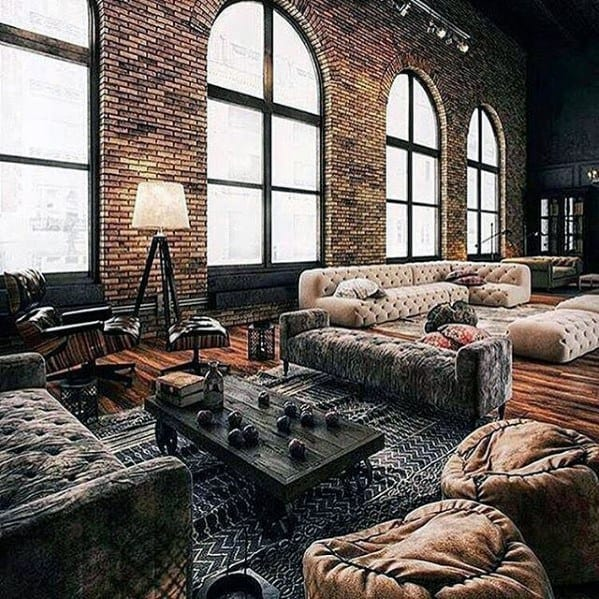 Cool Loft Ultimate Bachelor Pad Designs