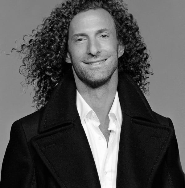 Cool Long Curly Hair On Men