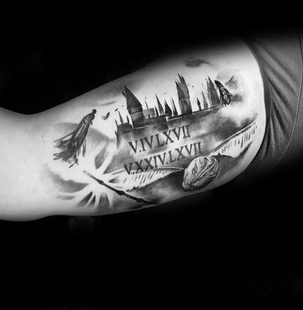 Cool Male Dementor Tattoo Designs