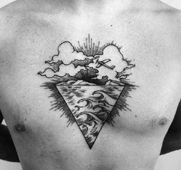 Cool Male Esoteric Tattoo Designs
