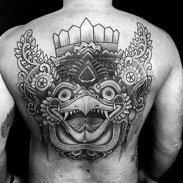 Cool Male Garuda Tattoo Designs