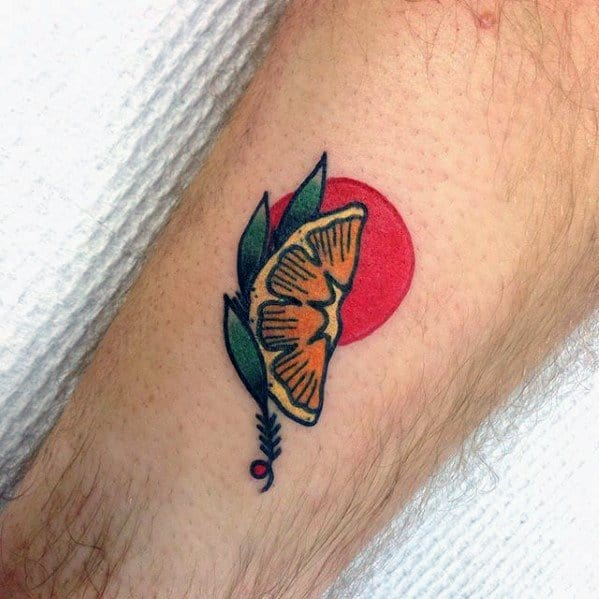 Cool Male Lemon Tattoo Designs