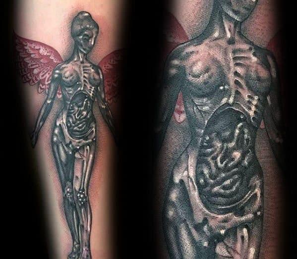 Cool Male Nirvana Tattoo Designs