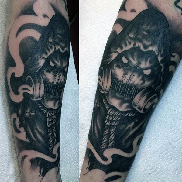 Cool Male Scarecrow Tattoo Designs