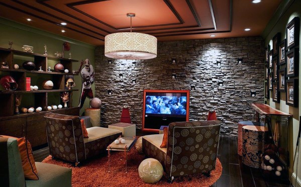 Cool Man Cave Interior Design Idea Inspiration