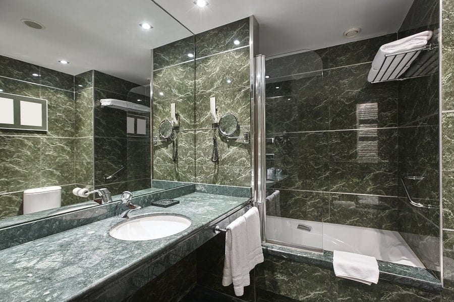 Cool Marble Bathroom Vanity Wall