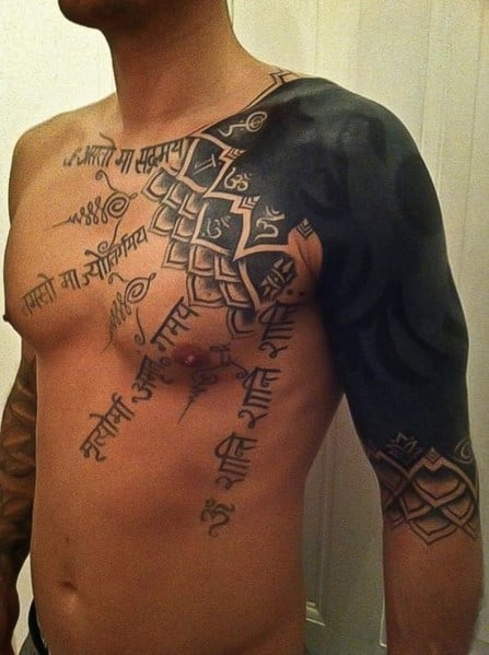Top 59 Shoulder Tattoos For Men 2020 Inspiration Guide