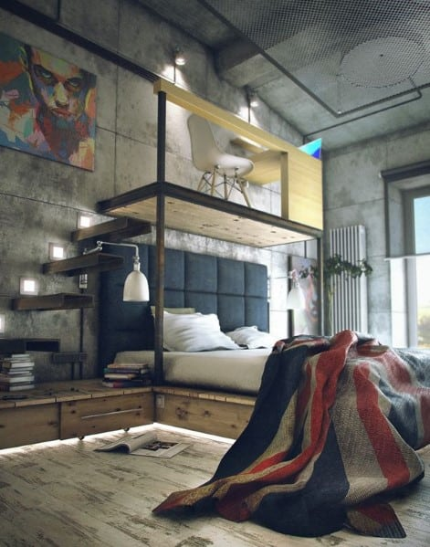 Cool Men's Bedrooms