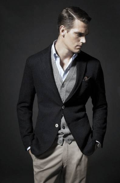 Cool Mens Casual Wear Style Inspiration Navy Blazer