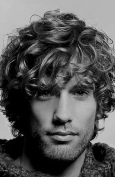 Cool Men's Curly Hairstyles