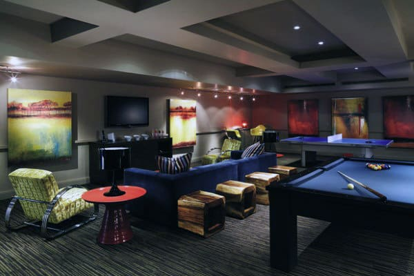 Marvelous Cool Mens Game Room Home Lounge Ideas