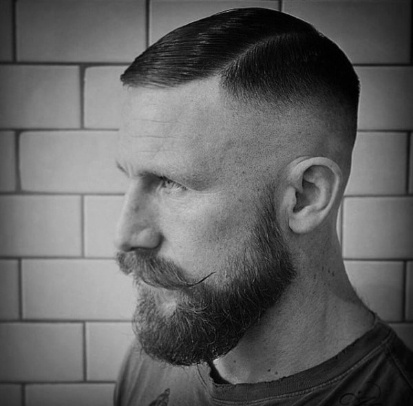 Cool Mens High Skin Fade Haircut