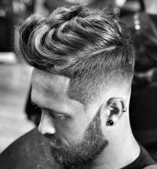 Cool Mens Low Fade Wavy Haircuts