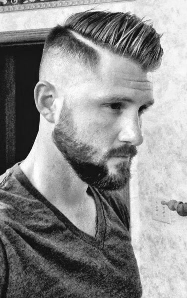 Cool Men's Side Part Haircuts