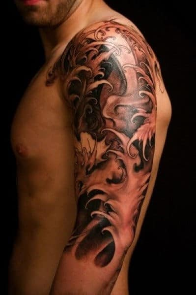 Cool Men's Sleeve Tattoos