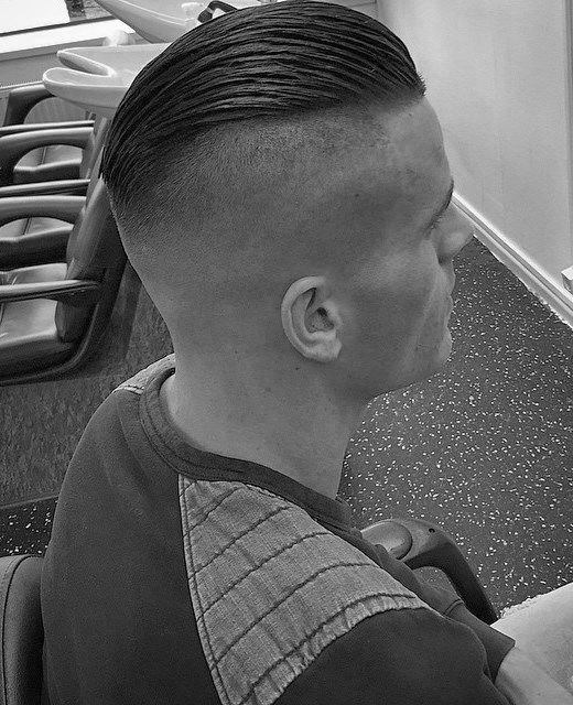 Cool Mens Slicked Back Undercut Hairstyles
