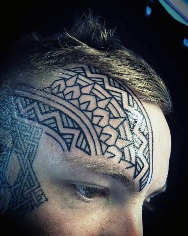 face tattoo 7