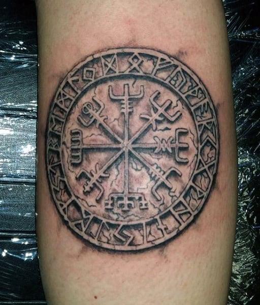 Tattoo viking hand Viking Tattoo