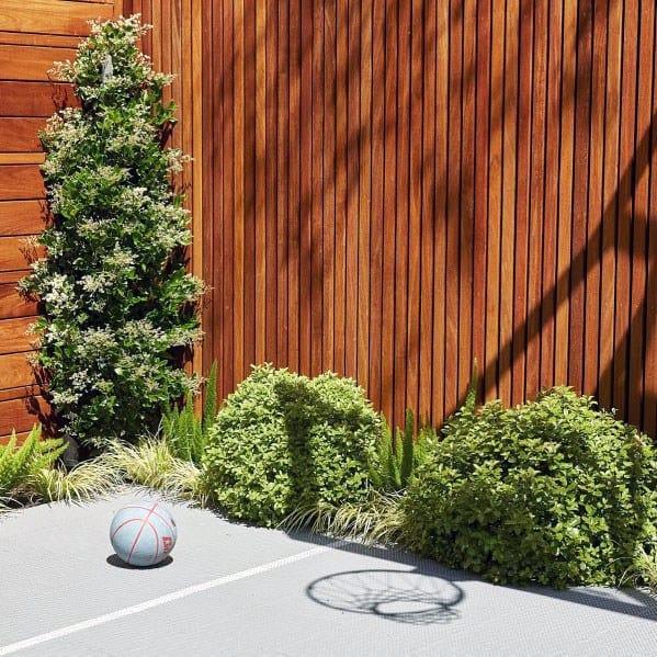 Cool Modern Backyard Privacy Fence Wood