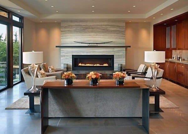 Cool Modern Fireplace Designs