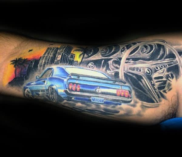 sovie tattoo cool cars - photo #19