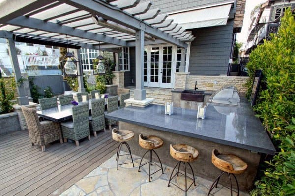 Cool Outdoor Bar Ideas