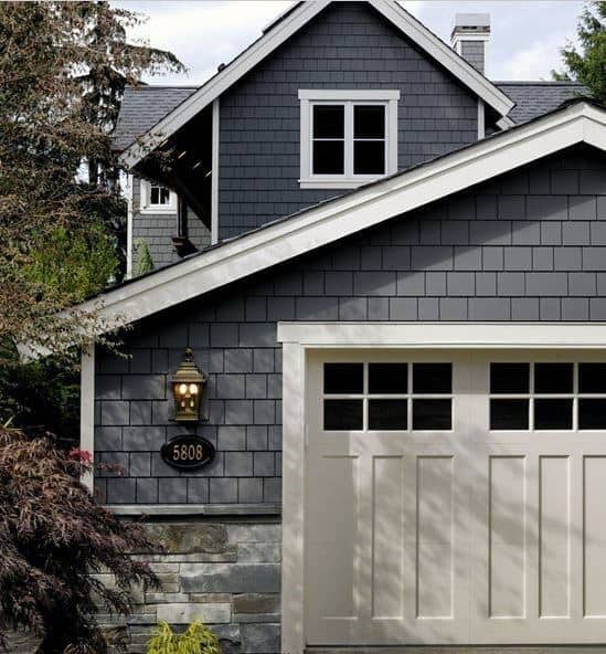 54 Cool Garage Door Design Ideas Pictures: 50 Outdoor Garage Lighting Ideas