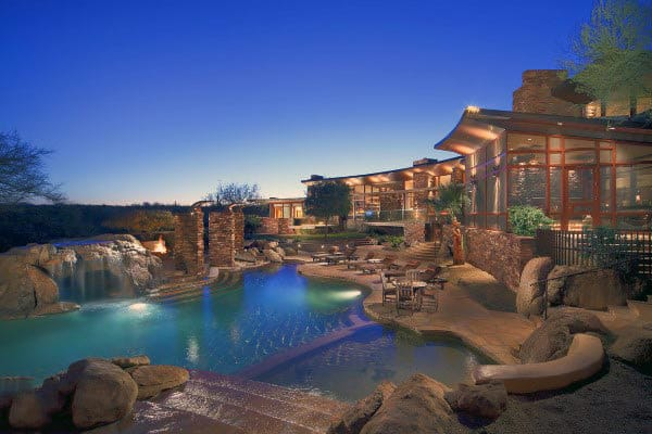 Cool Outdoor Retreat Swimming Pool Design Ideas