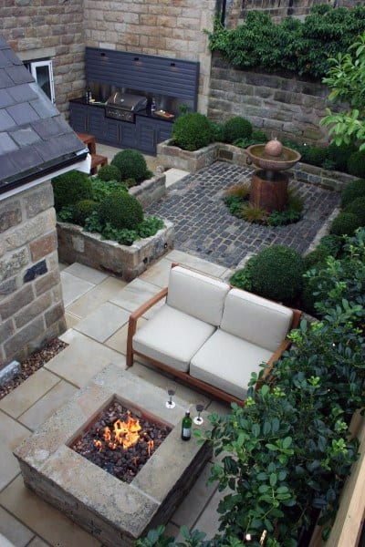 Top 60 Best Outdoor Patio Ideas - Backyard Lounge Designs on Cool Patio Ideas id=46467