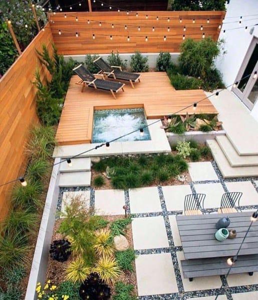 Cool Patio Privacy Fence Design Ideas