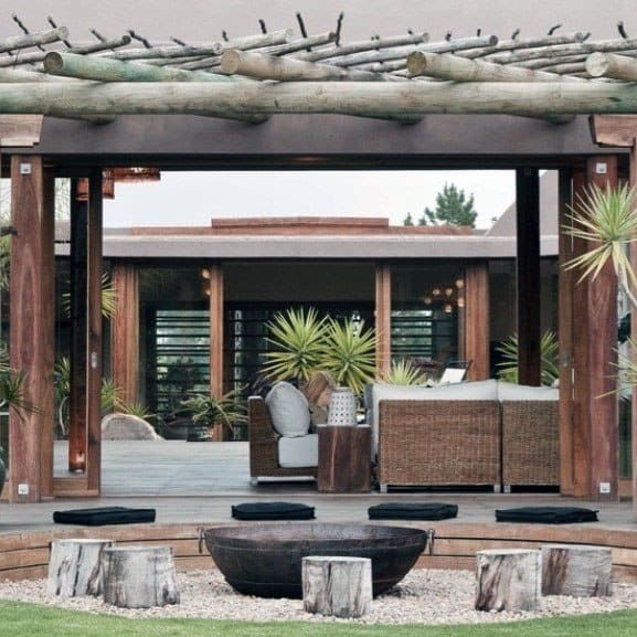 Cool Pavilion Backyard