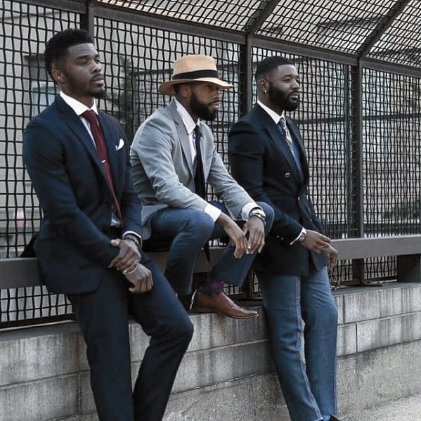 Cool Professional Dapper Beard Styles For Black Men