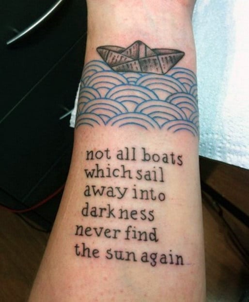 Cool Quote Tattoos For Men