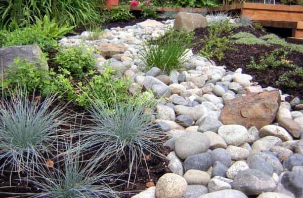 Cool River Rock Landscaping