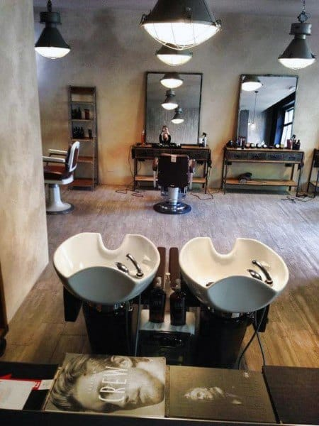 Cool Rustic Barber Shop Designs