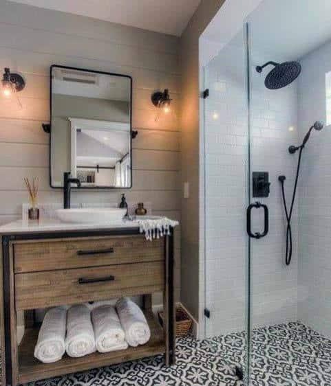 Cool Rustic Bathroom Ideas