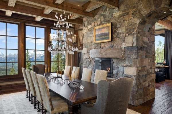 Cool Rustic Dining Room Ideas