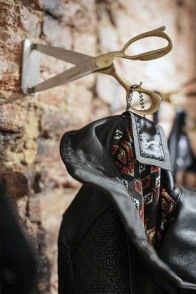 Cool Scissors Coat Hanger Man Cave Decor