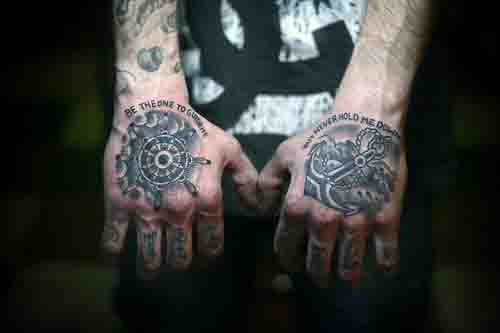621477912 70 Ship Wheel Tattoo Designs For Men - A Meaningful Voyage