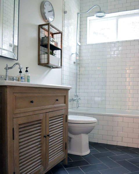 Cool Shower Bath Tub Combo Window Design Ideas
