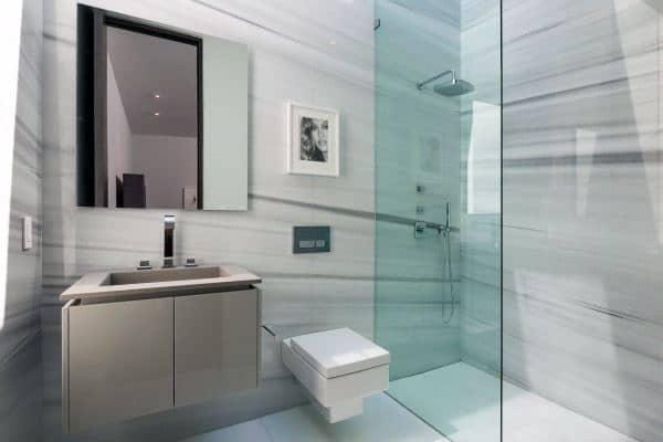 doorless small shower ideas