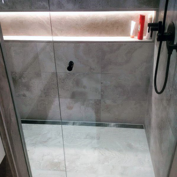 Cool Shower Lighting Design Ideas Led Niche