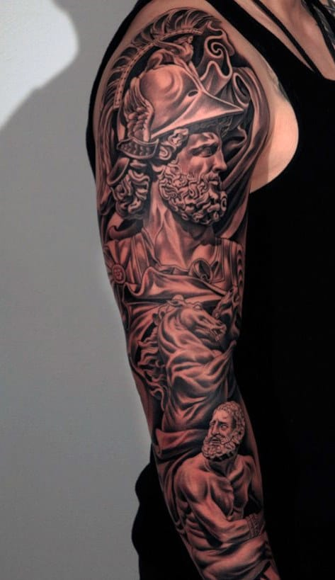 Top 100 best sleeve tattoos for men cool designs and ideas for Unique arm tattoos