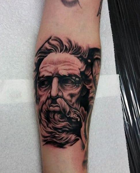 Top 59 Greek Mythology Tattoo Ideas - [2020 Inspiration Guide]