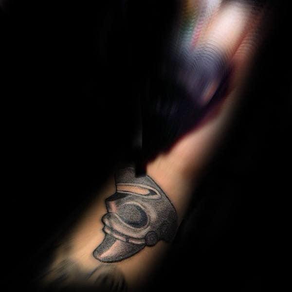 Cool Small Simple Shaman Taino Mens Arm Tattoos