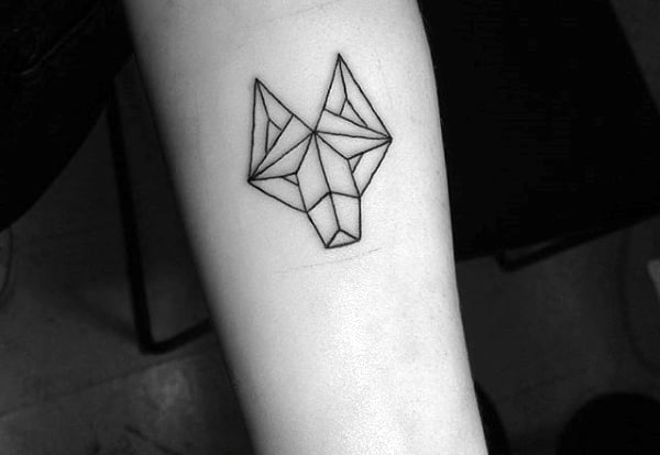 Fox Cool Small Tattoo Ideas For Men
