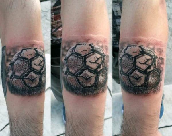 Cool Soccer Armband Tattoos For Guys